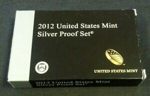 2012 SILVER PROOF SET WITH OGP      8589