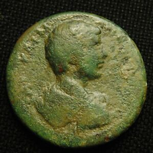 Click now to see the BUY IT NOW Price! 32 CILICIA MOPSOS EMPEROR CARACALLA RV SADDLED MULE WREATH 21.44 GR 32MM AD 198