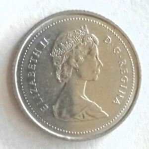 HOLIDAY SALE   1985 CANADA 10 CENTS HIGH GRADE
