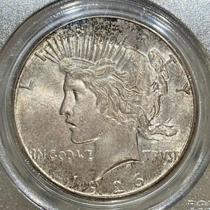 Click now to see the BUY IT NOW Price! 1926 S PCGS & CAC MS66 PEACE SILVER DOLLAR