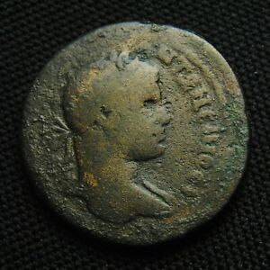 Click now to see the BUY IT NOW Price! 33 COMMAGENE SAMOSATA ELAGABALUS RV TYCHE SEATED PEGASUS 22.63 G 33MM AD 218 22
