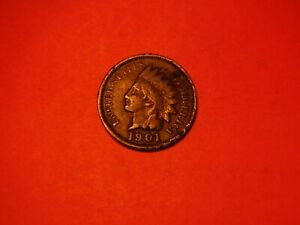 1901 INDIAN HEAD CENT    GOOD CIRCULATED
