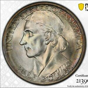 Click now to see the BUY IT NOW Price! 1936 BOONE 50C PCGS MS 67  CAC   LOW POP COMMEMORATIVE HALF DOLLAR