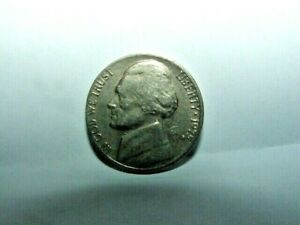 US JEFFERSON NICKEL YEAR 1975 MINT MARKED D MINT ERROR CONSIDERED HIGH D
