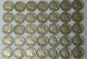LOT OF 7 BUFFALO NICKELS 1913 1915 1916 1920 1923 1923 S 1926  21520
