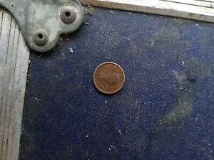 CANADA 1954 SF 1 CENT COPPER ONE CANADIAN PENNY COIN MISSPRINT  PENNY