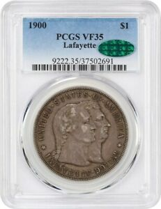 1900 LAFAYETTE $1 PCGS/CAC VF35   THE ONLY $1 CLASSIC COMMEM