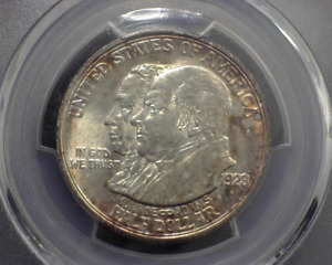 HS&C: 1923 MONROE S COMMEMORATIVE PCGS 63   US COIN