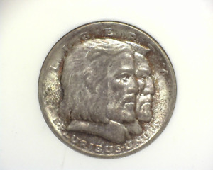 HS&C: 1936 LONG ISLAND COMMEMORATIVE NGC 64   US COIN