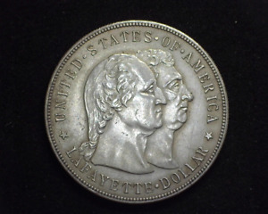HS&C: 1900 LAFAYETTE COMMEMORATIVE AU   US COIN