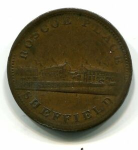 TOKEN PENNY 1812 SHEFFIELD  HIGH GRADE
