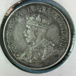 1912  CANADA  10 CENT GREAT LOOKING   COIN FREE SHIP INSIDE THE USA