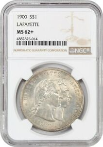 1900 LAFAYETTE $1 NGC MS62  THE ONLY $1 CLASSIC COMMEM