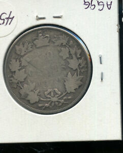 1870 CANADA 50 CENTS G  AB61