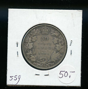 1931 CANADA 50 CENTS VG AB87