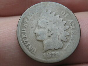 1879 INDIAN HEAD CENT PENNY  GOOD DETAILS