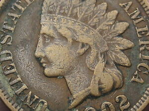 1902 INDIAN HEAD CENT PENNY XF DETAILS LIBERTY SHOWING