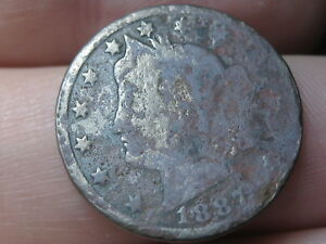1887 LIBERTY HEAD V NICKEL 5 CENT PIECE  METAL DETECTOR FIND?