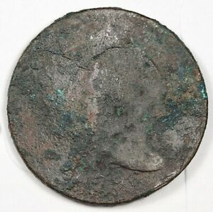1796 LARGE CENT.  CIRCULATED.  147309