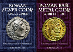DIGITAL BOOKS P.D.F SET OF 2 ROMAN SILVER & ROMAN BASE METAL COINS A PRICE GUIDE