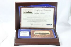 1859 O LIBERTY SEATED HALF DOLLAR SS REPUBLIC SHIPWRECK EFFECT NGC IN WOOD CASE