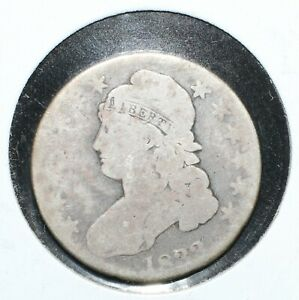 1833 CAPPED BUST SILVER HALF DOLLAR   05701