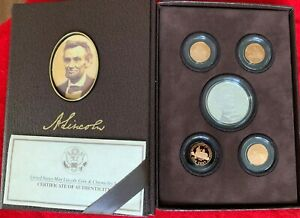 2009 UNITED STATES MINT LINCOLN COIN & CHRONICLES SET W/ CERT. OF AUTHENTICY