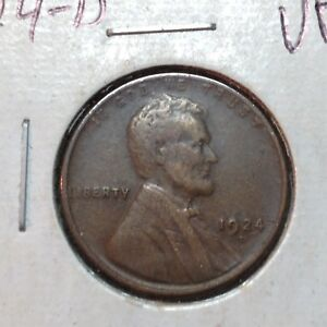 1924 D  VF  LINCOLN CENT