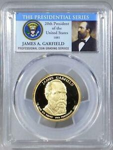2011   S  JAMES GARFIELD DOLLAR   PCGS PR69DCAM   THE PRESIDENTIAL SERIES