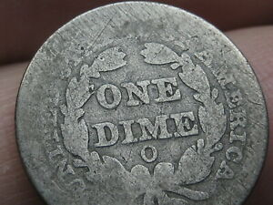 1851 O SEATED LIBERTY DIME  LOWER MINTAGE DATE