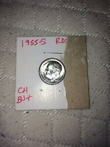 1955S ROOSEVELT SILVER DIME