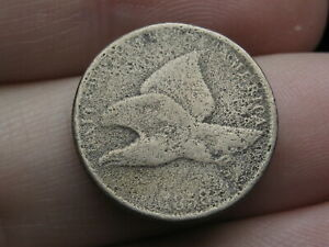 1858 FLYING EAGLE PENNY CENT SMALL LETTERS