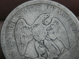 1875 P ? SEATED 20 TWENTY CENT PIECE  LOW MINTAGE TYPE COIN