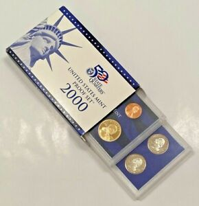 2000 S UNITED STATES MINT  PROOF SET   IN ORIGINAL GOV'T PACKAGING   COA   USA