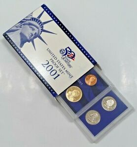 2001 S UNITED STATES MINT  PROOF SET   IN ORIGINAL GOV'T PACKAGING   COA   USA