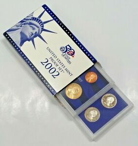2002 S UNITED STATES MINT  PROOF SET   IN ORIGINAL GOV'T PACKAGING   COA   USA