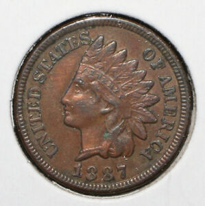 1887 INDIAN HEAD CENT   06383