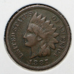 1887 INDIAN HEAD CENT   06384
