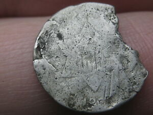 1851 1853 THREE 3 CENT SILVER TRIME TYPE 1 MISSING CHUNK OF PLANCHET