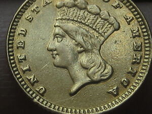 1883 $1 GOLD LIBERTY HEAD ONE DOLLAR COIN   DATE