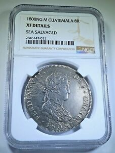Click now to see the BUY IT NOW Price! NGC GUATEMALA 1808 NG M FERDINAND VII
