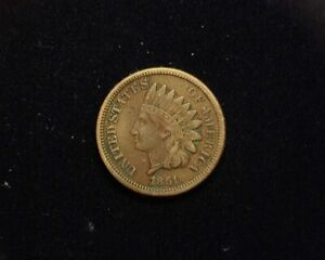 HS&C: 1861 INDIAN HEAD PENNY/CENT F