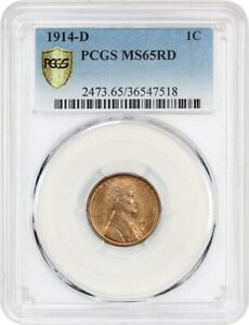 Click now to see the BUY IT NOW Price! 1914 D 1C PCGS MS65 RD   GREAT KEY DATE   LINCOLN CENT   GREAT KEY DATE