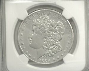 HS&C: 1889 CC MORGAN DOLLAR NGC XF DETAILS RIM FILLED AND CLEANED. NICE COIN.