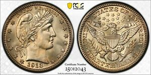 Click now to see the BUY IT NOW Price! 1913 S PCGS & CAC MS66 BARBER SILVER QUARTER