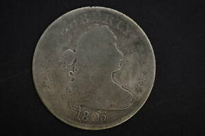 1805  G    DRAPED BUST QUARTER     TYPE COIN