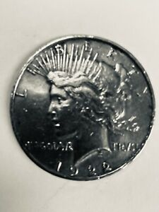 1922 PEACE SILVER DOLLAR FAMILY HEIRLOOM NEVER CIRCULATED