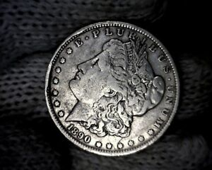 ERROR 1890 O RIM CUDS MORGAN SILVER DOLLAR
