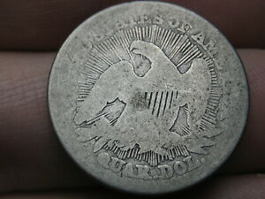 1853 P SILVER SEATED LIBERTY QUARTER  ARROWS AND RAYS