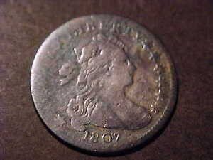 1807  VG  BUST DIME LARGE EAGLE    NICE COIN